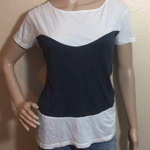 Vintage faux corset t shirt